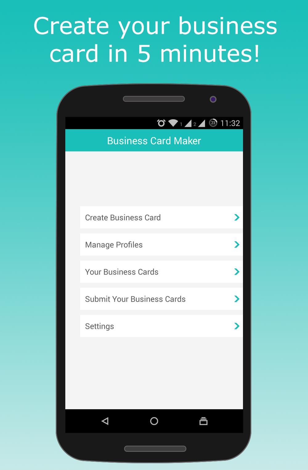 Screenshots business card maker unified apps screenshots alramifo Choice Image